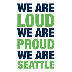 Love my Seattle sports!