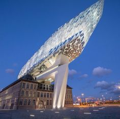 Antwerp Port house by Zaha Hadid