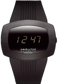 Hamilton Asymmetric FLIGHT II Watch Arbib 60s Space Age Electric Retro Modern