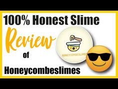 Honeycombeslimes Review by SlimeScrewball UK slime unboxing