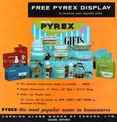 pyrex store display - Pyrex Gifts PYREX ADVERTISING STORE DISPLAY