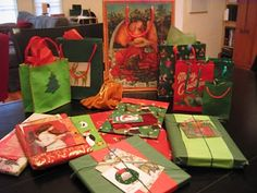 Green and Frugal Gift Wrapping