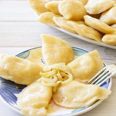 Pierogi - step by step picture guide to making Pierogi dough