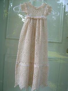 Custom Hand Crochet Antique Reproduction by Antiquebeginnings, $300.00