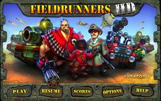 Fieldrunners HD: Champion of Tower Defense Games