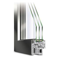 Holz-alu Fenster Eco Idealu Trendline | Holz-alu Fenster | Pinterest Balkonturen Modelle Terrasse Veranda