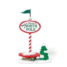 "Department 56: Products - ""Welcome To The North Pole"" - View Accessories"