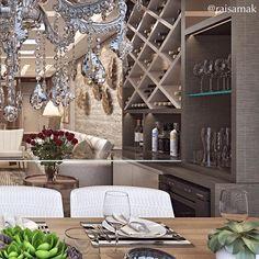 Pensando no happy hour com os amigos mais tarde?  Projeto de interiores para apartamento do Edifício Torre de Oregon, Maringá.  Projeto Guapo Arquitetura e Interiores.  Modelagem e render @raisamak #projeto #arquitetura #arquiteturaedesign #designdeinteriores #interiores #arquiteturadeinteriores #interiorismo #interiordesign #saladejantar #dining #sala #3D #render #sketchup #vray #vrayrender #3dsmax #photoshop #decor #decoracao #decoração #archviz #tgif #instamood #instarender #mesaposta…