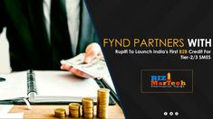 Fynd Partners With Rupifi To Launch India's First B2B Credit For Tier-2/3 SMES #india's #b2b #rupifi #fynd #first #credit #b2bbusiness #marketing #b2bmarketing India First, Product Launch, Activities, Marketing, Business, Store, Business Illustration