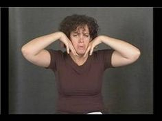 American Sign Language Emotion Words : American Sign Language: Anxious Nervous