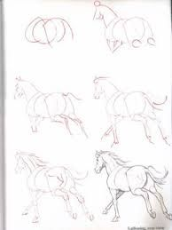 How to draw a Horse – Drawing Techniques Horse Drawings, Animal Drawings, Cool Drawings, Drawing Sketches, Sketching, Drawing Practice, Drawing Skills, Drawing Techniques, Drawing Tips
