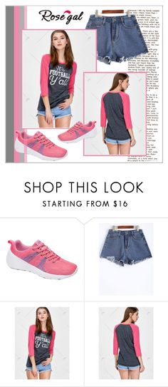 """Sporty"" by mujkic-merima ❤ liked on Polyvore featuring sporty and rosegal"