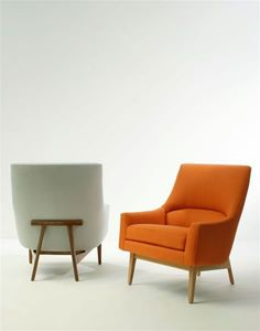 beautiful mid-century modernesque chairs