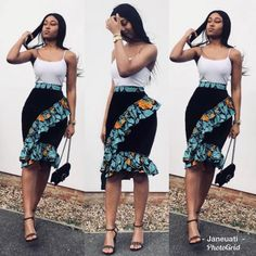 2019 African Skirts That Will Have You Dressed Perfectly for Any Occasion - Zain. By Diyanu Source by plussizediyanu African Wear Dresses, Latest African Fashion Dresses, African Print Fashion, African Attire, African Prints, African Print Dress Designs, African Print Skirt, Vetement Fashion, Skirt Fashion