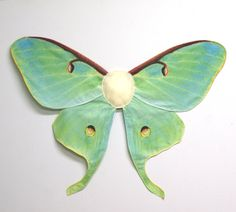 Realistic LUNA MOTH Costume Wings for by VtgSewingPatterns on Etsy, $52.00
