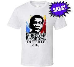 Duterte 2016 T Shirt Trending Outfits, Mens Tops, T Shirt, Clothes, Fashion, Supreme T Shirt, Outfits, Moda, Tee Shirt