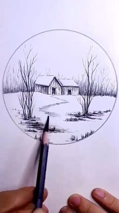 3d Art Drawing, Art Drawings For Kids, Nature Drawing, Art Drawings Sketches Simple, Cool Sketches, Pencil Art Drawings, Pencil Sketches Landscape, Art Drawings Beautiful, Diy Canvas Art