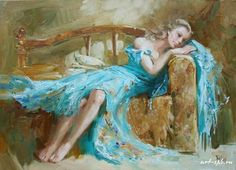Женские образы в живописи Марии Павловой