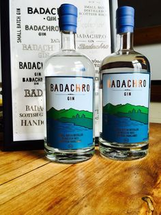 Badachro Gin, distilled with the purest waters and locally foraged botanicals