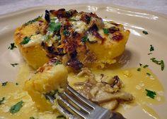 Cuoricini di polenta con porcini..