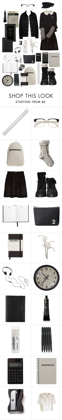 """""""Untitled #1351"""" by jayda-xx ❤ liked on Polyvore featuring BAGGU, Fat Face, rag & bone, Zara, Margaret Howell, Leuchtturm1917, AIAIAI, WALL, Undercover and Grown Alchemist"""