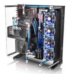 Amazon.com: Thermaltake CORE P5 ATX Open Frame Mid Tower Wall Mount 180 Degree Liquid Cooling Gaming Computer Case CA-1E7-00M1WN-00: Computers & Accessories
