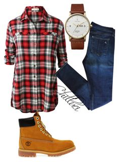 Autumn 2015 by chilluci on Polyvore featuring LE3NO, rag & bone, Timberland and Triwa