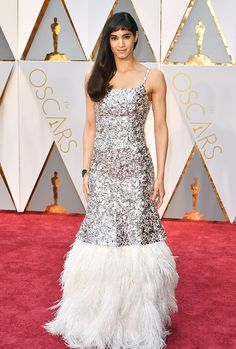 Sofia Boutella attends the 89th Annual Academy Awards at Hollywood & Highland Center on February 26, 2017 in Hollywood, California