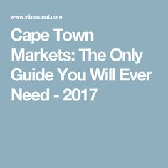 Find all these and more at markets in Cape Town. Travel List, Travel Guides, Vacation Trips, Vacation Travel, Things To Know, Cape Town, Marketing, Farms, Youtube