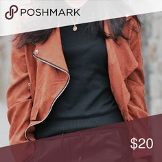 Like New Suede Jacket!!! Like New Sheinside Suede Jacket! Worn only twice. No Trades. Jackets & Coats