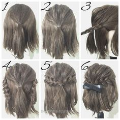 Marvelous easy prom hairstyle tutorials for girls with short hair  The post  easy prom hairstyle tutorials for girls with short hair…  appeared first on  99Haircuts .