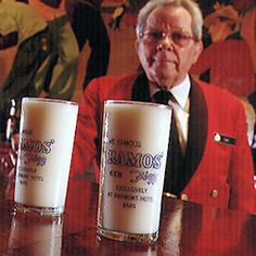 Ramos Gin Fizz - Invented by New Orleans bar owner Henry Ramos in 1888, this frothy cocktail became quite popular in the Big Easy. In 1935, it was trademarked by the Crescent City's Roosevelt Hotel.