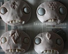 Making Faces  by Amanda Louise a great doll artist