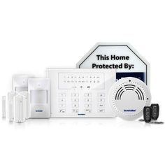 SecurityMan AirAlarmIIDL Deluxe Kit EasyToUse DoItYourself Wireless Smart Home Alarm System for Home and Business *** For more information, visit image link.