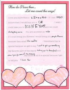 Valentines for Grandparents: very cute mad lib style, sure to make any grandma's heart melt