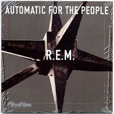 """""""Automatic for the People"""", by rock band REM, has sold over 18 million copies worldwide and is considered one of the best records of the 1990s. The cover shows a greyed-out photograph of a Miami motel sign. The back cover features a photograph of an old building with the track listing written at the same angle from which the building is viewed. The album was nominated for Album of the Year at the Grammy Awards. Rolling Stone ranked it at #18 on its """"100 Greatest Albums of the 90s."""" (Vinyl…"""