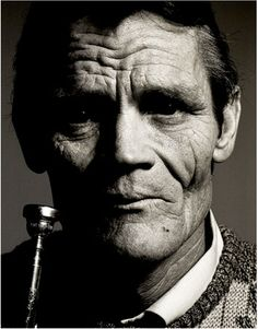 mysleepykisser-with-feelings-hid:                                                        Chet Baker, Jazz Musician by John Claridge                                                I love You boy