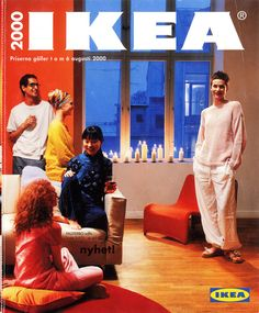 Bit of an IKEA enthusiast? We are pretty sure you would enjoy this then. With a huge chunk of help from IKEA Communication's copywriters we have put together a Interior Design Tips, Home Interior, Design Ideas, Ikea Ad, Catalogue Ikea, Catalog Cover, Artwork For Home, How To Attract Customers, Vintage Interiors