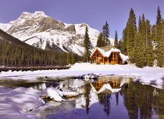 ***Emerald Lake Lodge (Yoho, BC) by Suchun Du / 500px E