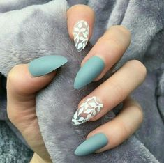 style to your nails using nail art designs. Used by fashion-forward personalities, these nail designs can add instantaneous elegance to your outfit. Matte Nail Art, Cute Acrylic Nails, Cute Spring Nails, Fall Nail Art Designs, Nail Design, Dream Nails, Winter Nails, Fall Nails, Creative Nails
