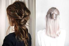 Easy Hairstyles: 6 schnelle Frisuren für faule Tage « MISS