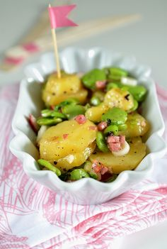 {Picknick Time} Kartoffelsalat ohne Mayo, dafür mit dicken Bohnen