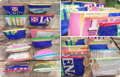 Unique Upcycled Feed Bag | Zippered Pouch - A Clever Spark http://www.theatticlight.com/deals/unique-upcycled-feed-bag-zippered-pouch/
