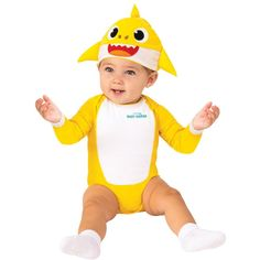 Shark Party Costume, Shark Costumes, Toddler Costumes, Family Costumes, Toddler Shark Costume, Baby First Halloween, Baby Halloween Costumes, Baby Costumes, Infant Halloween