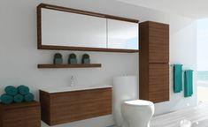 Vanité sur mesure Malibuv Malibu, Basement Makeover, Bathtub, Mirror, Bathroom, Frame, Furniture, Home Decor, Dream Bathrooms