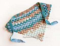 Bandana Kerchief Free Crochet Pattern