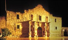 The Alamo.  I was shocked at how very small it was!