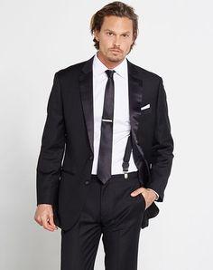 a7127e52fb The Black Tux The Rat Pack Outfit Black Tuxedo Svadba