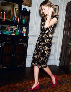 Notch Neck Shift - Boden  http://www.bodenusa.com/en-US/Womens-Dresses/Below-Knee-Dresses/WH380/Womens-Notch-Neck-Shift.html?NavGroupID=4  great texture
