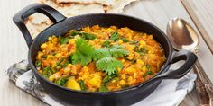 I Quit Sugar - pumpkin and kale dahl